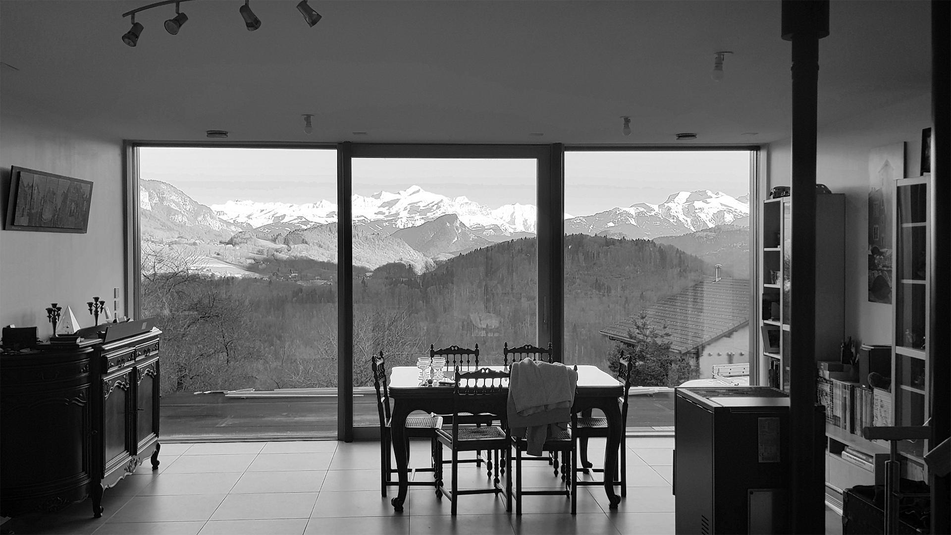 Le Mont-Blanc, bien au chaud